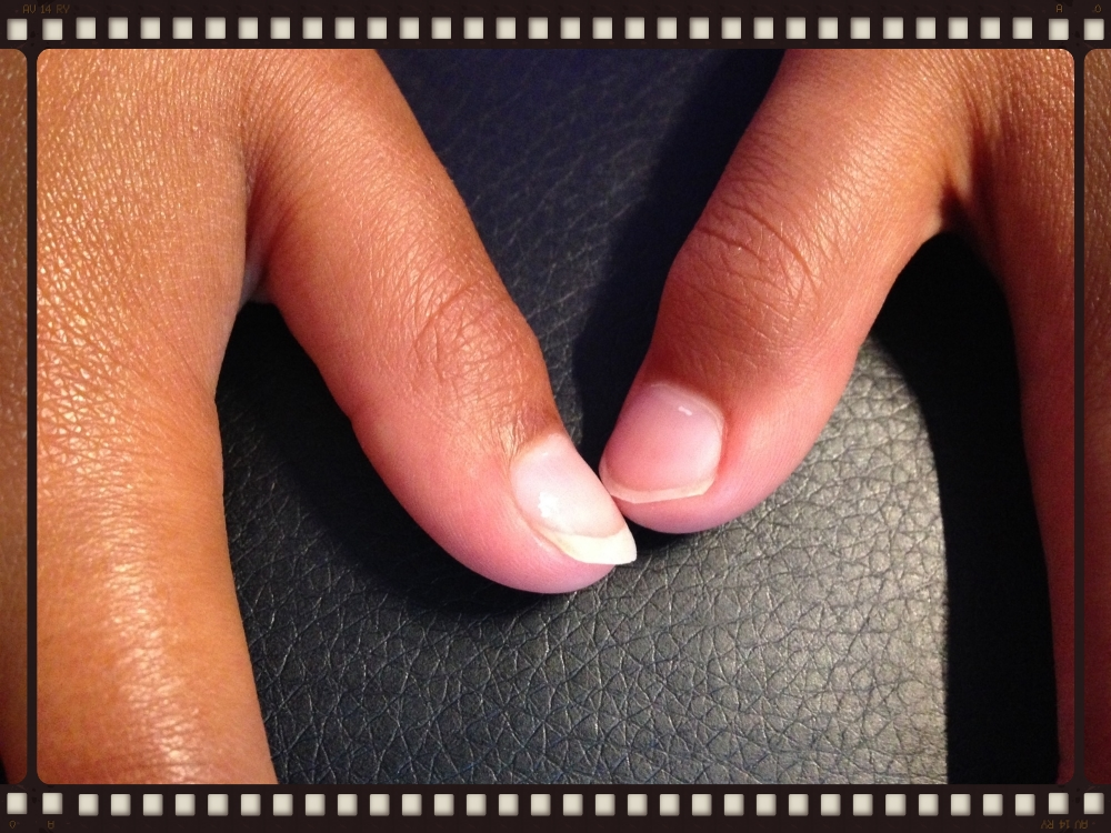 Ella's thumbnails - one long, one short.