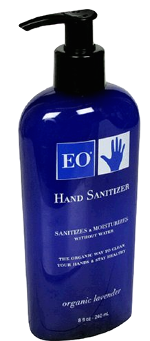 The  EO Hand Sanitizer smells wonderful and does the trick for a quick blast of cleanliness after a mid-lesson sneeze or two. I find most hand sanitizer too drying and this is the best one I've found for everyday use.