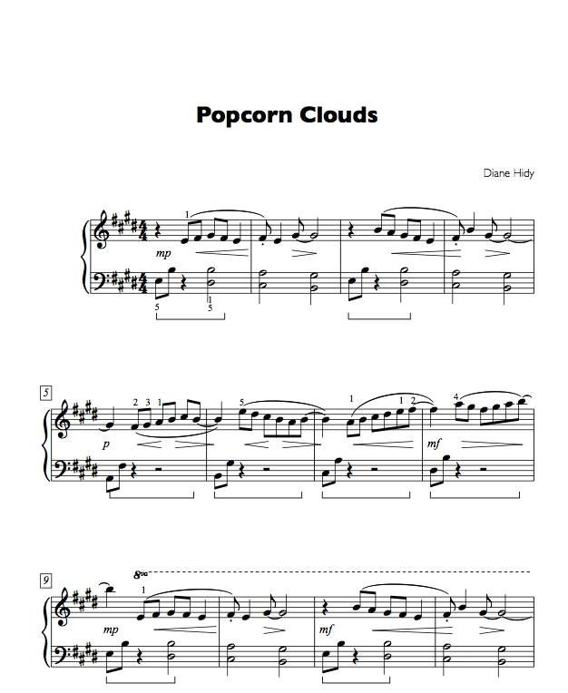 Popcorn Clouds is in Attention Grabbers Book Three.