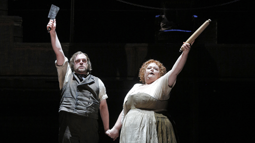 From the San Francisco Opera production of Sweeney Todd.
