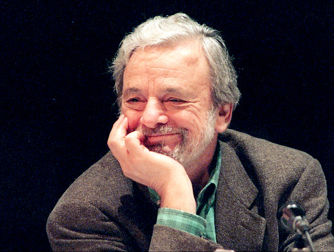 My lyric hero, Stephen Sondheim.