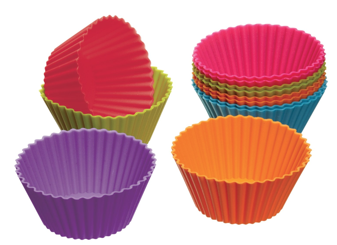 My students enjoy these  Colorful Silicone Cupcake Cases . I didn't know what I'd use them for when I originally bought them, but now I know! They're great for giving a student just a few of anything - Japanese Erasers, stickers - anything where you want a colorful option. They are also good fidget toys as it's nearly impossible to make any noise with them.