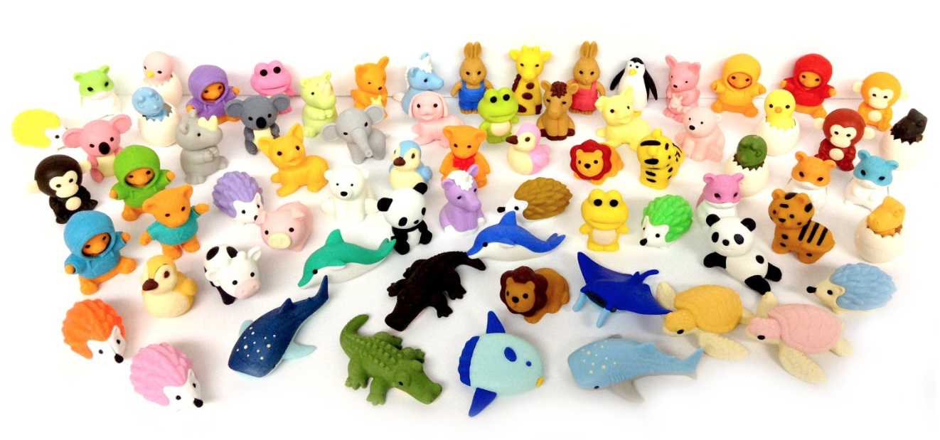 No list of mine would be complete without  Japanese Puzzle Erasers . I use them constantly and the students never grow tired of them. This bulk package of 30 erasers is by far the cheapest way to purchase them.