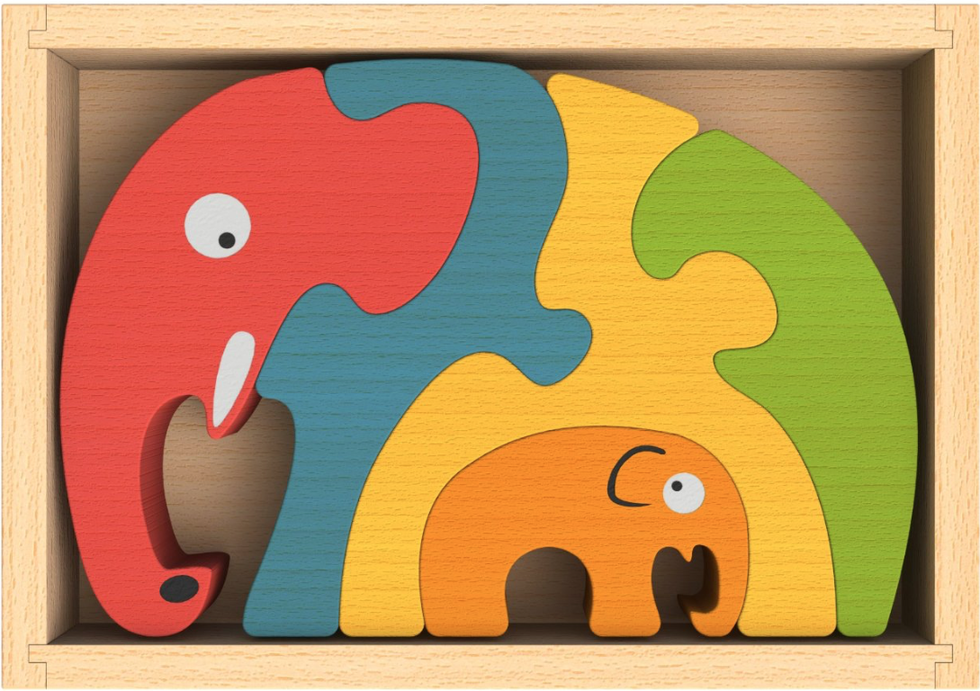 I like using a simple but complex puzzle like this  Elephant Family Puzzle when I interview a new student. It gives me all kinds of opportunities to see how a prospective student reacts to a new challenge.