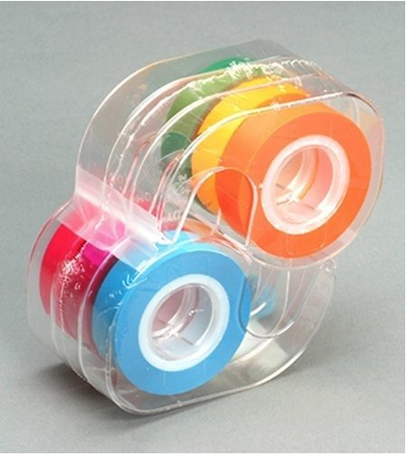 Multi-colored  Highlighting Tape  is a must. Use it to highlight trouble spots, or help with memorization. For more ideas see this post.