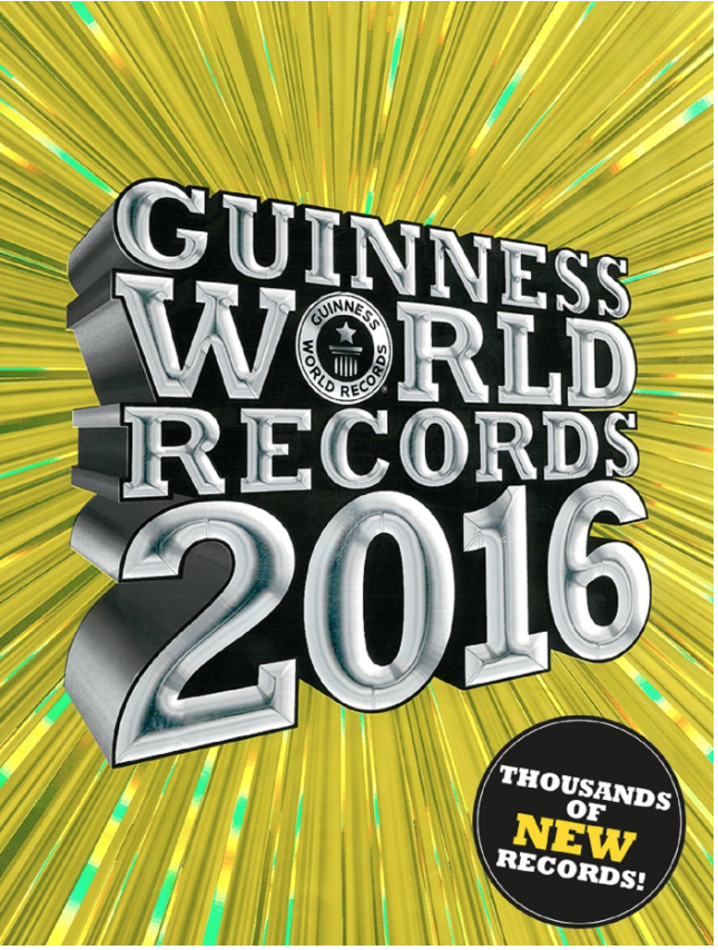 The  Guinness Book World Records  is the favorite waiting area book for all my students.They're kind of awful, but kids love the pictures and crazy things people do. The stories are short vignettes, so they can be picked up and easily put down. Great for a waiting area!