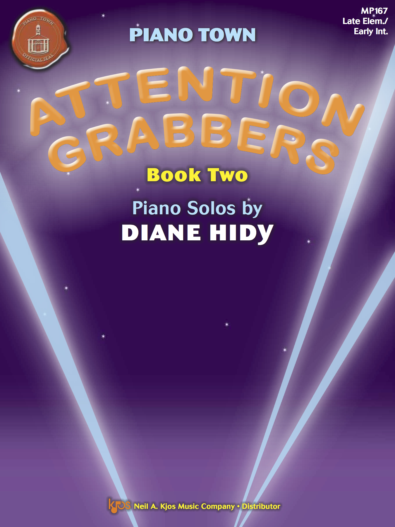 Attention Grabbers Book Two and Three  are big hits with my teens and even with my intermediate adult students.