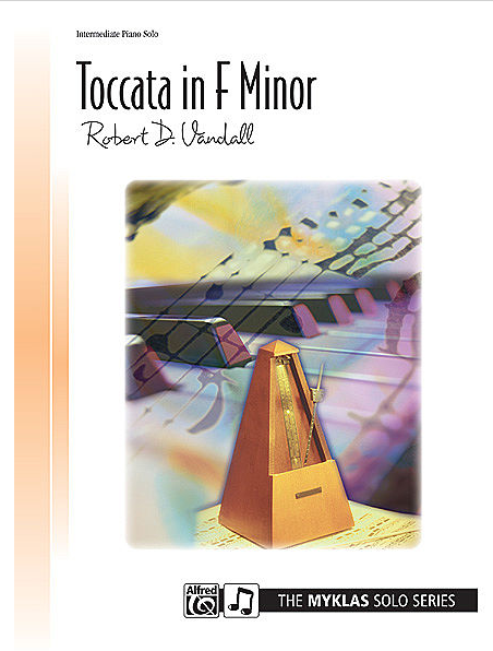 In my opinions, the  Toccata in F Minor  is one of Robert Vandall's most successful teaching pieces. It is full of fire and intensity. I've never taught it to a student who didn't love it. May be taught mostly by rote to a student who has reasonably good technique but a low reading level. Late Intermediate.