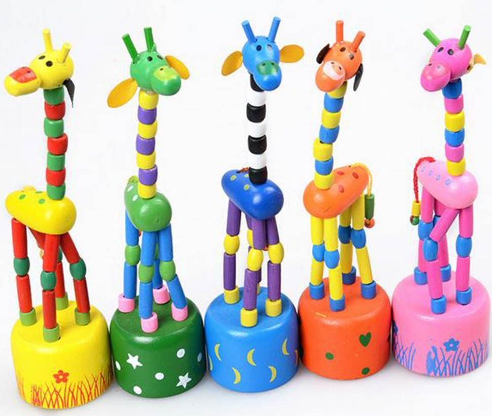 giraffe thumb puppets