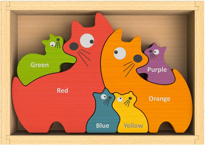 The  Cat Family Puzzle is adorable and unusual.