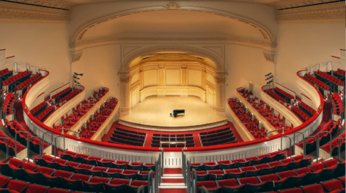 Carnegie Hall. It's a big place.