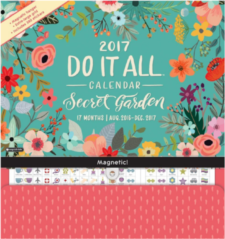 I love the idea behind this  Do It All Calendar . Take a look and see what you think. I'm wondering if I'd spend all my time making it look fabulous (with all its 300 included stickers) but not actually get any more organized. What do you think?