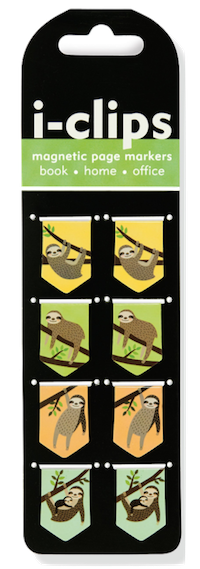 I'm not usually a fan of sloths, but these  Sloth Magnetic Bookmarks  made me laugh and I think my students would like them too.