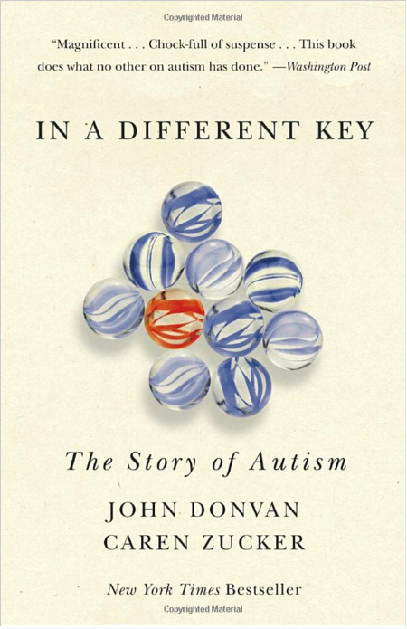 Stephen recommends the book, In A Different Key .