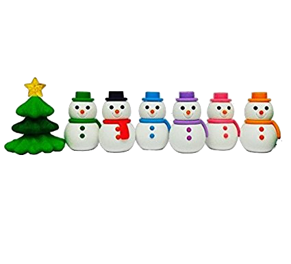 No list of mine would be complete without some Japanese Erasers. These adorable  Snowmen  would be such fun to use with my students!