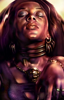 Arguably, the two most powerful spellcasters in Baldur's Gate are female people of color. That's pretty neat.