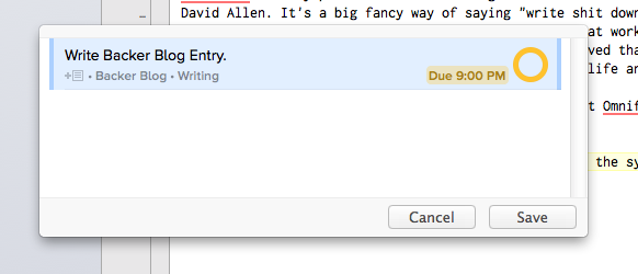 The Quick Entry pane is your best friend. Use it with wild abandon.