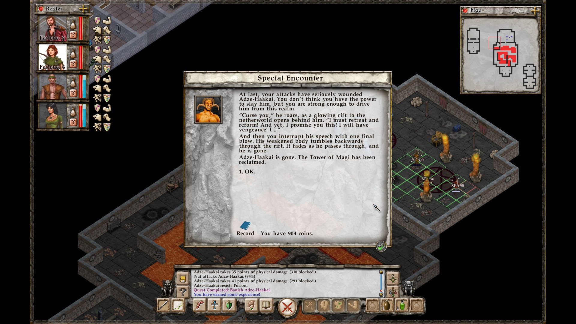 Not the first demon I killed, and certainly not the last...