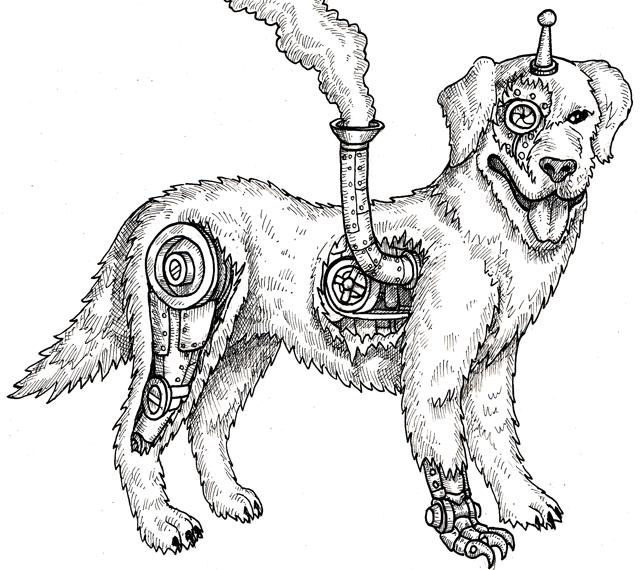 A clockbork companion