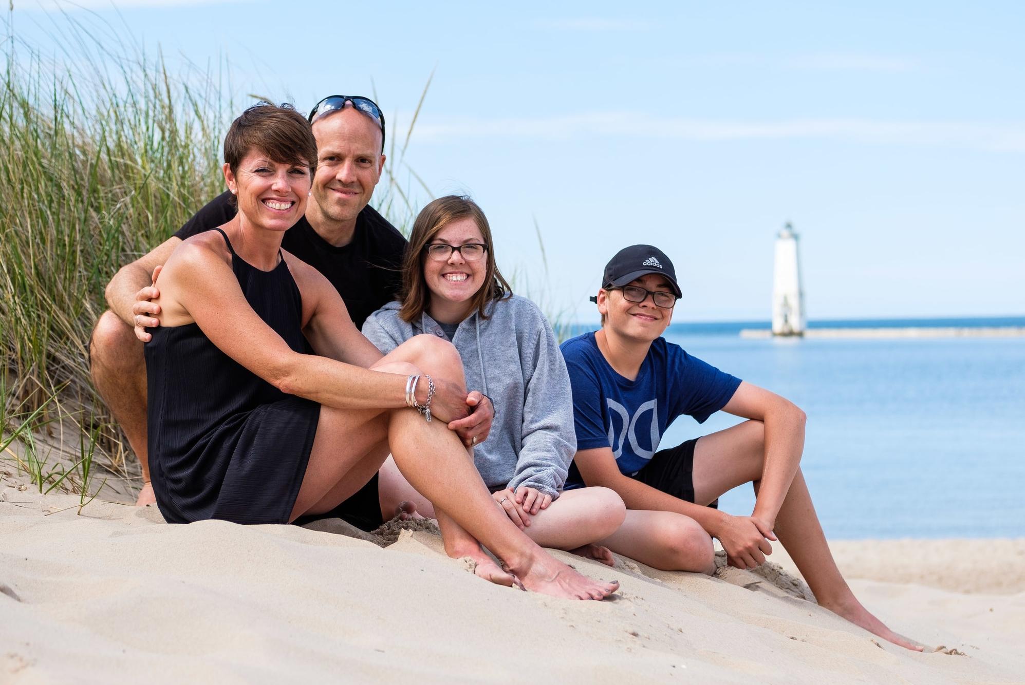 Summer vacation, Frankfort, Michigan