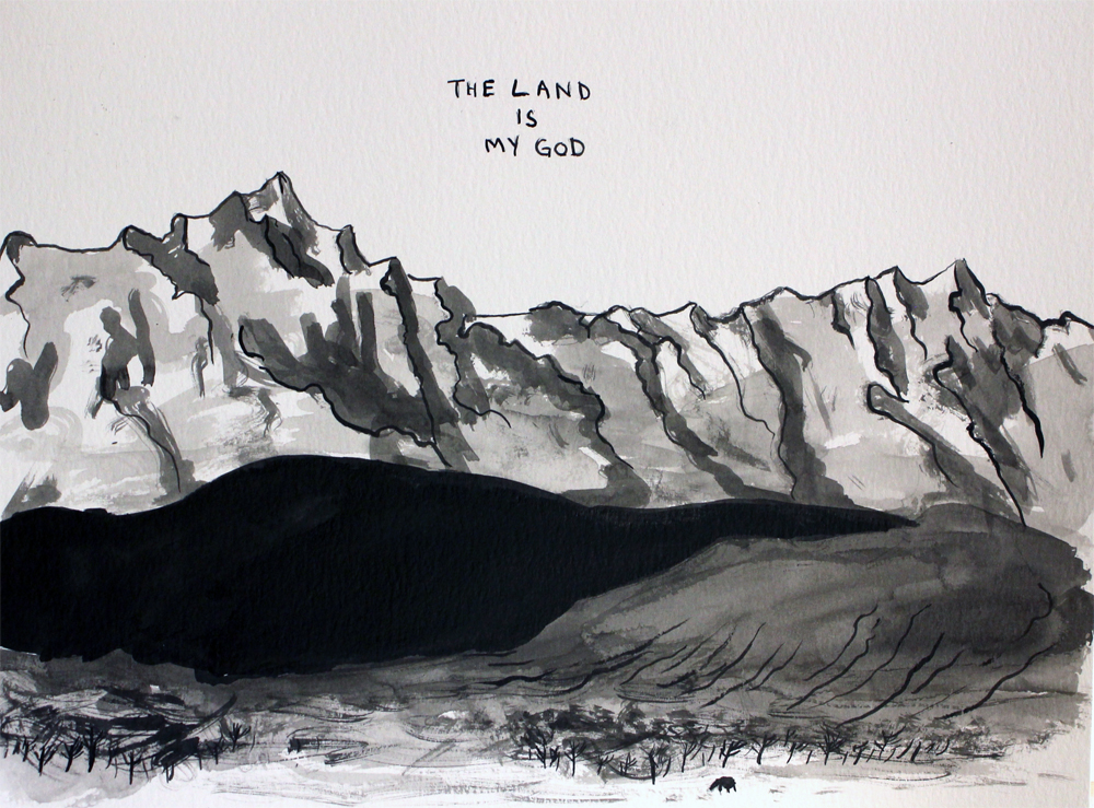 The Land Is My God