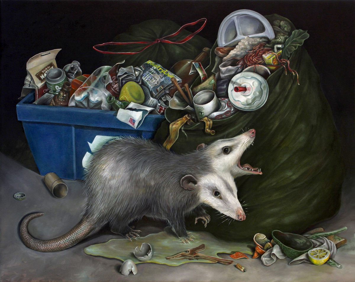 Still Life with Two-Headed Possum