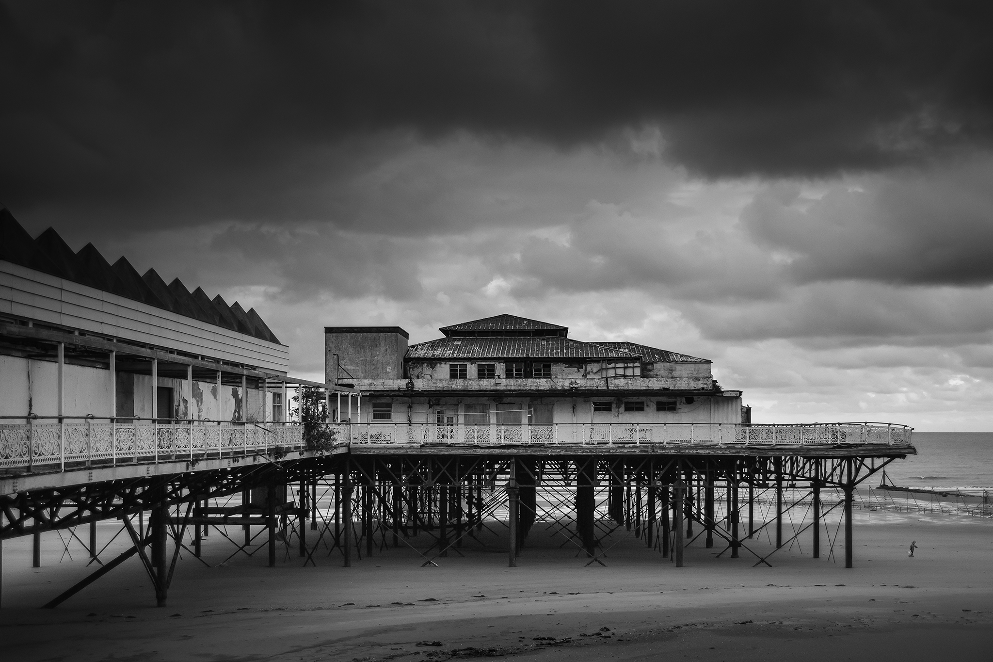 The soon to be demolished Victoria Pier at Colwyn, North Wales.