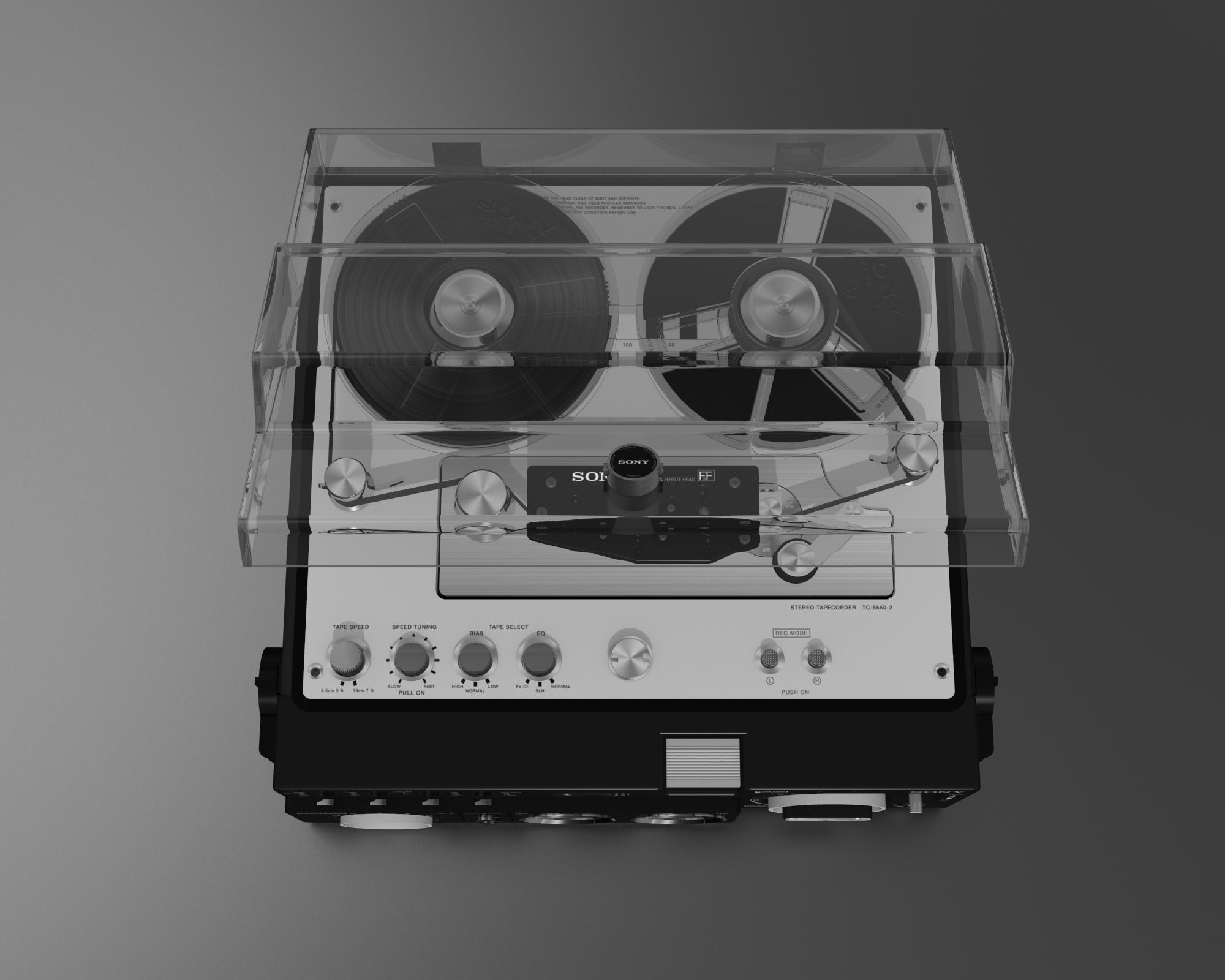 Mindhunter, Sony TC5550, 3D Model