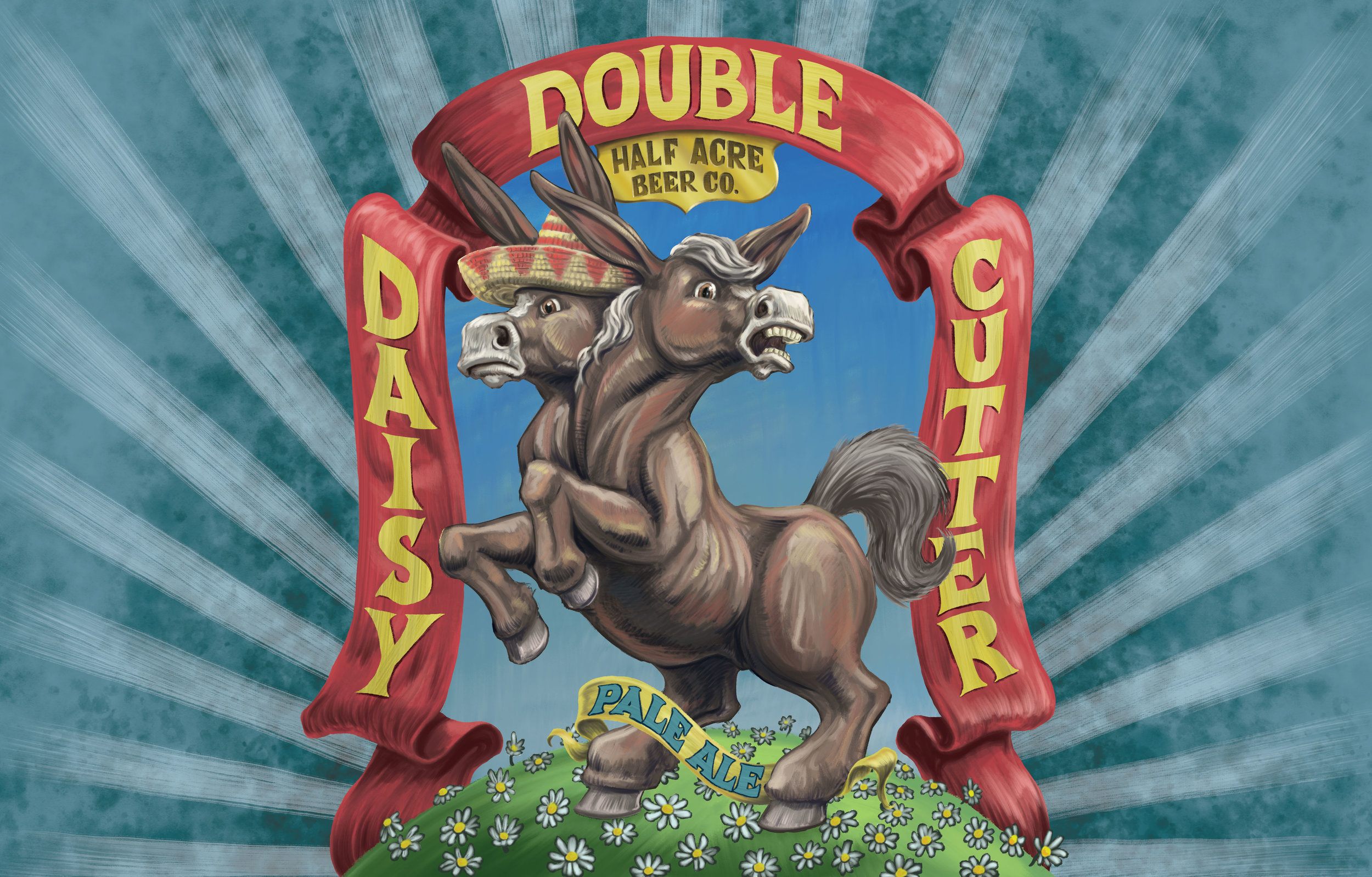 Double Daisy Cutter 2016 Bomber Label