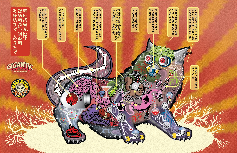 Grimalkin Amorphotron 2016 Bomber Label (Under)