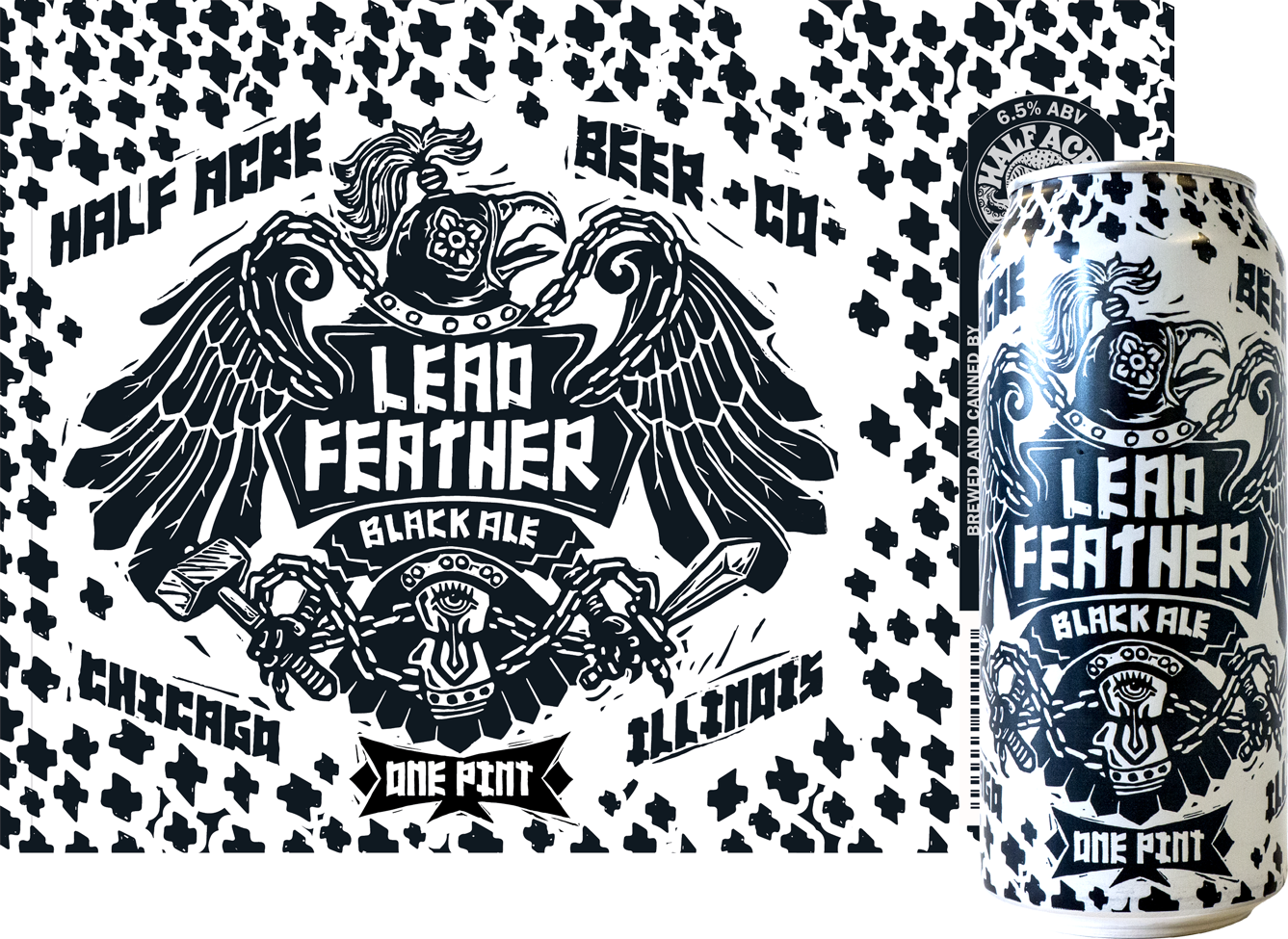 Lead Feather 2016 Can Flat and Can