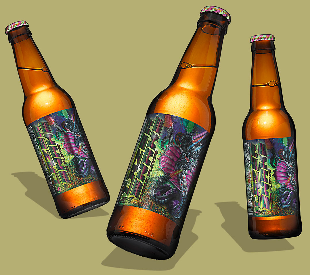 Lazer Snake 12oz. Bottles