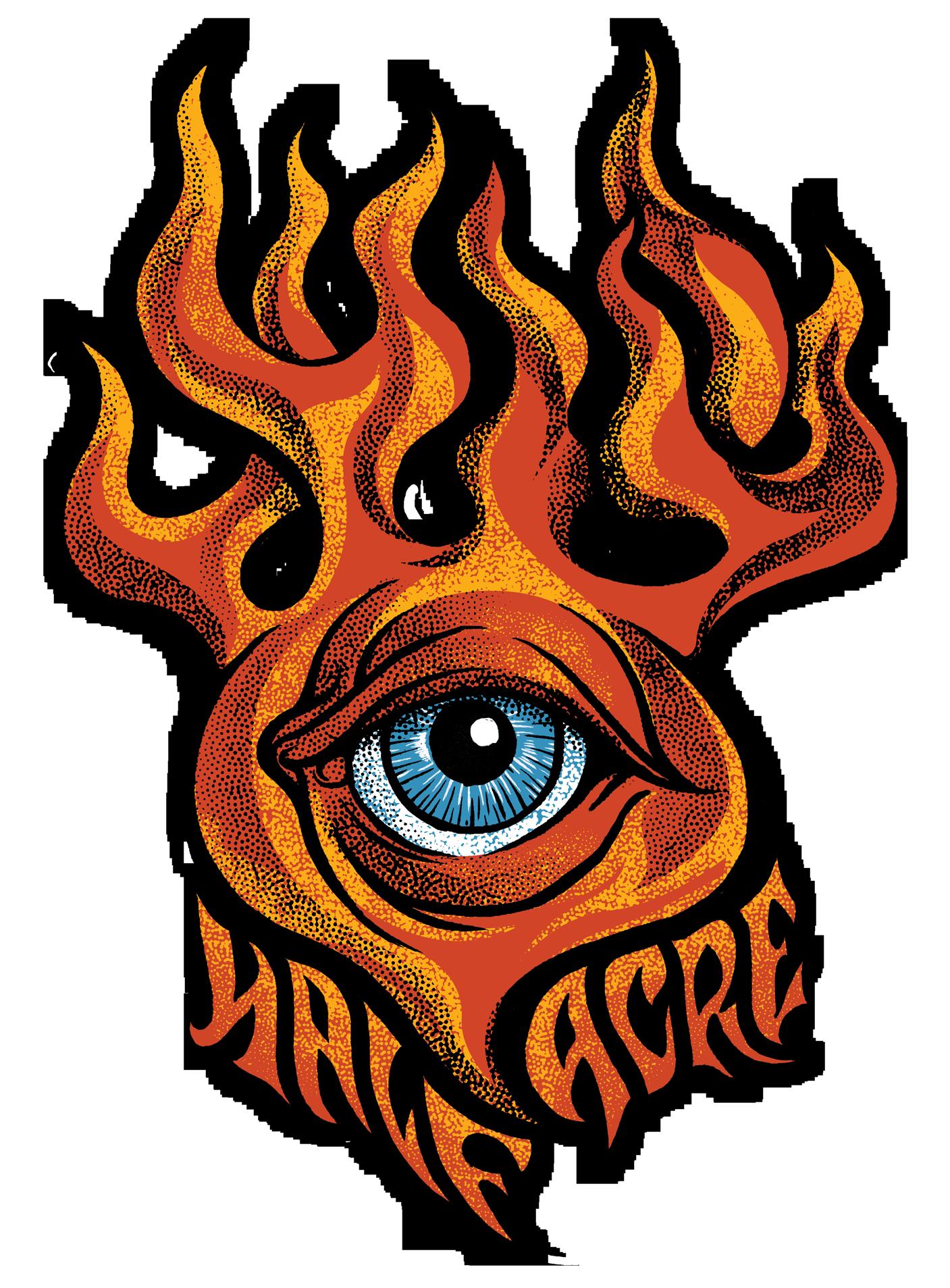 Flaming Eye Shirt
