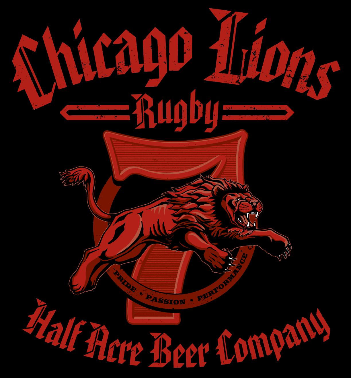 Chicago Lions Sponsorship Shirt