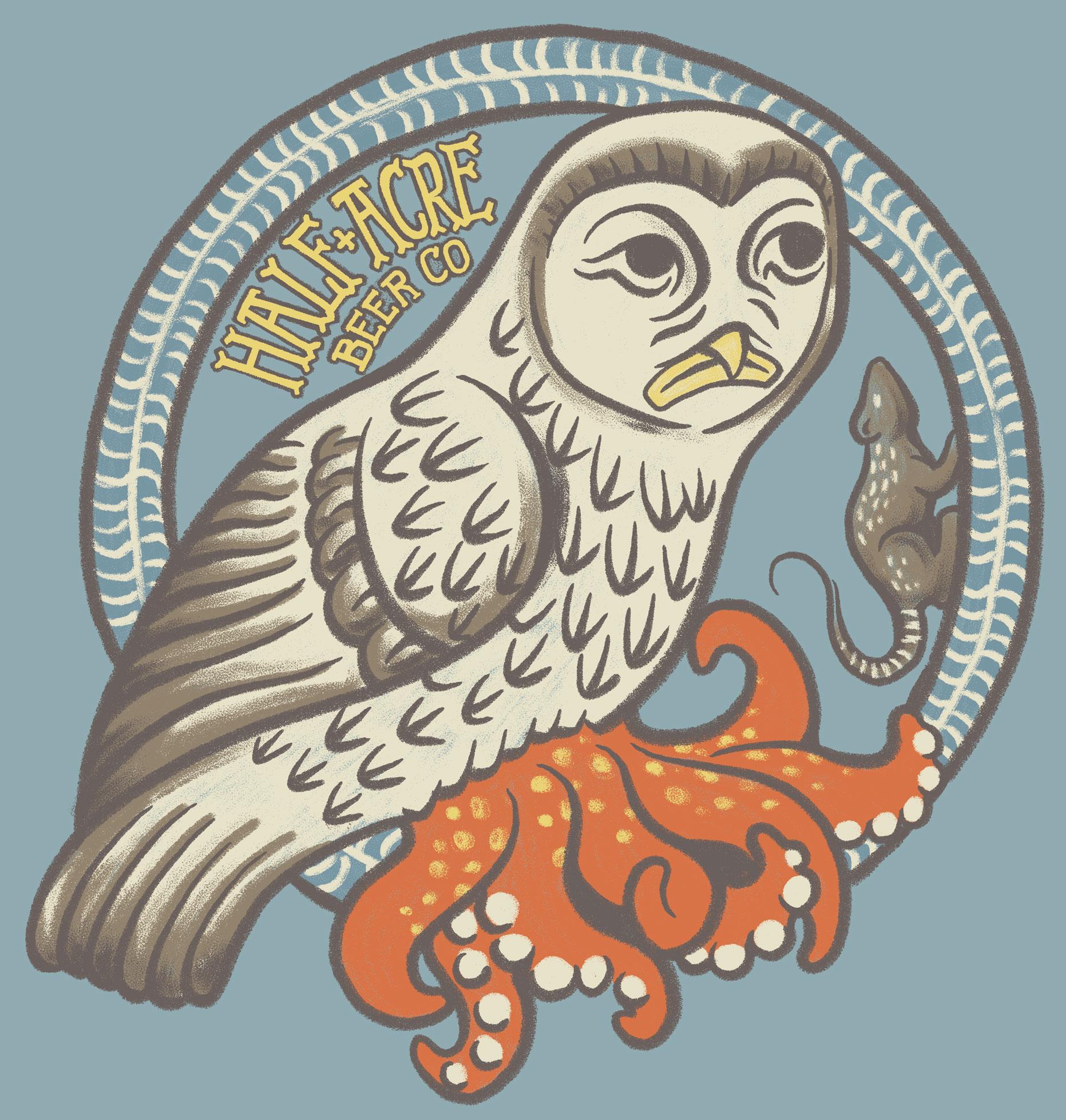 Medieval Squidowl Shirt