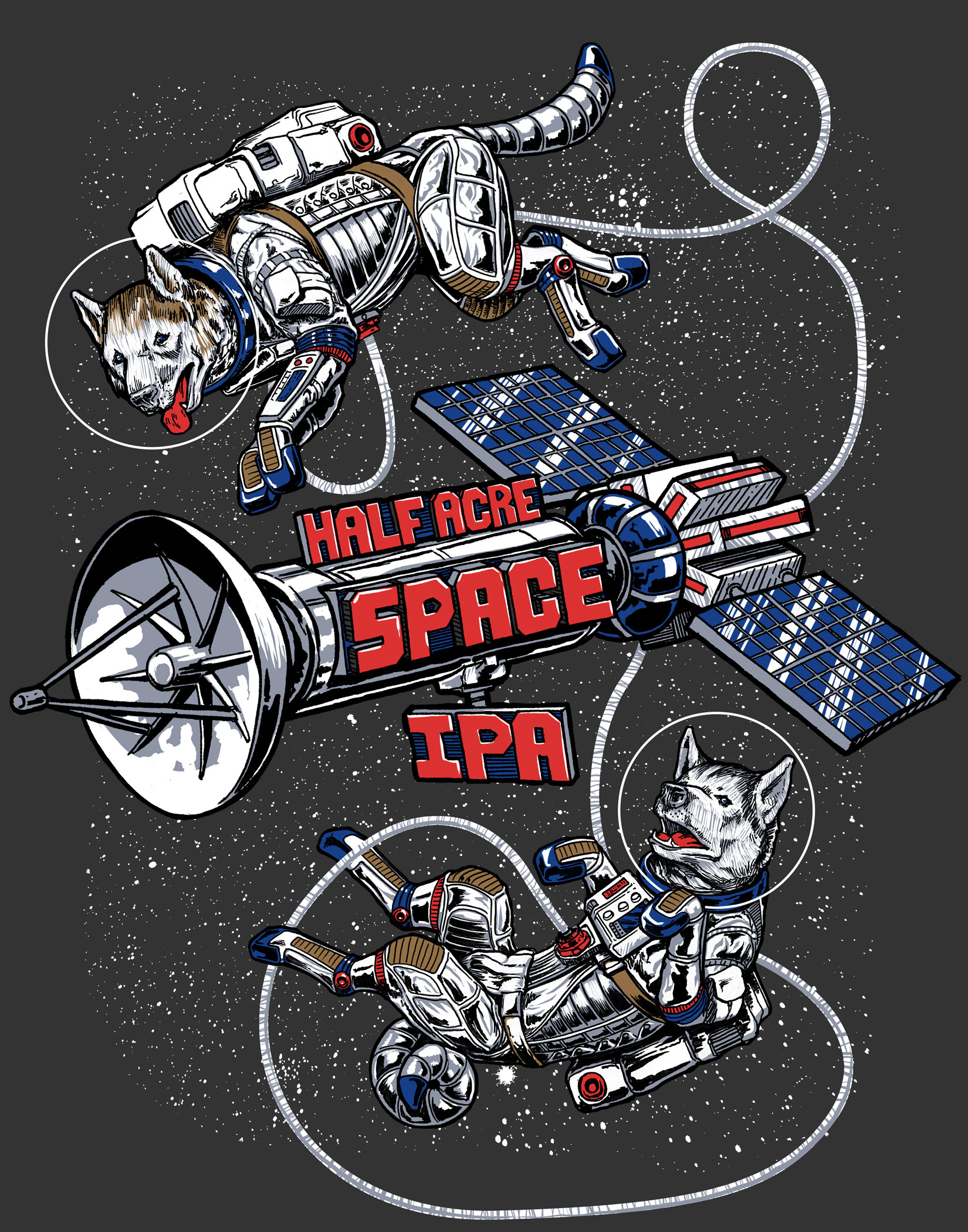 Space Dogs Shirt