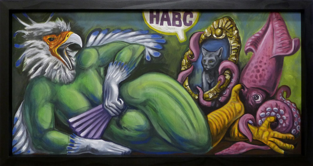 HABC Harpy Painting