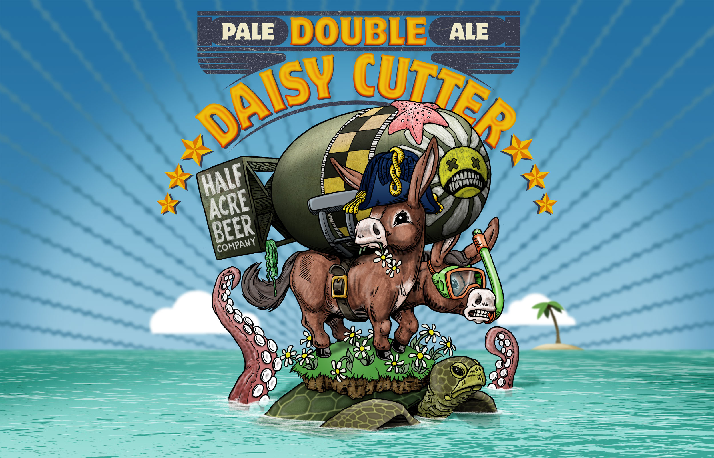 Double Daisy Cutter Early 2012 Bomber Label