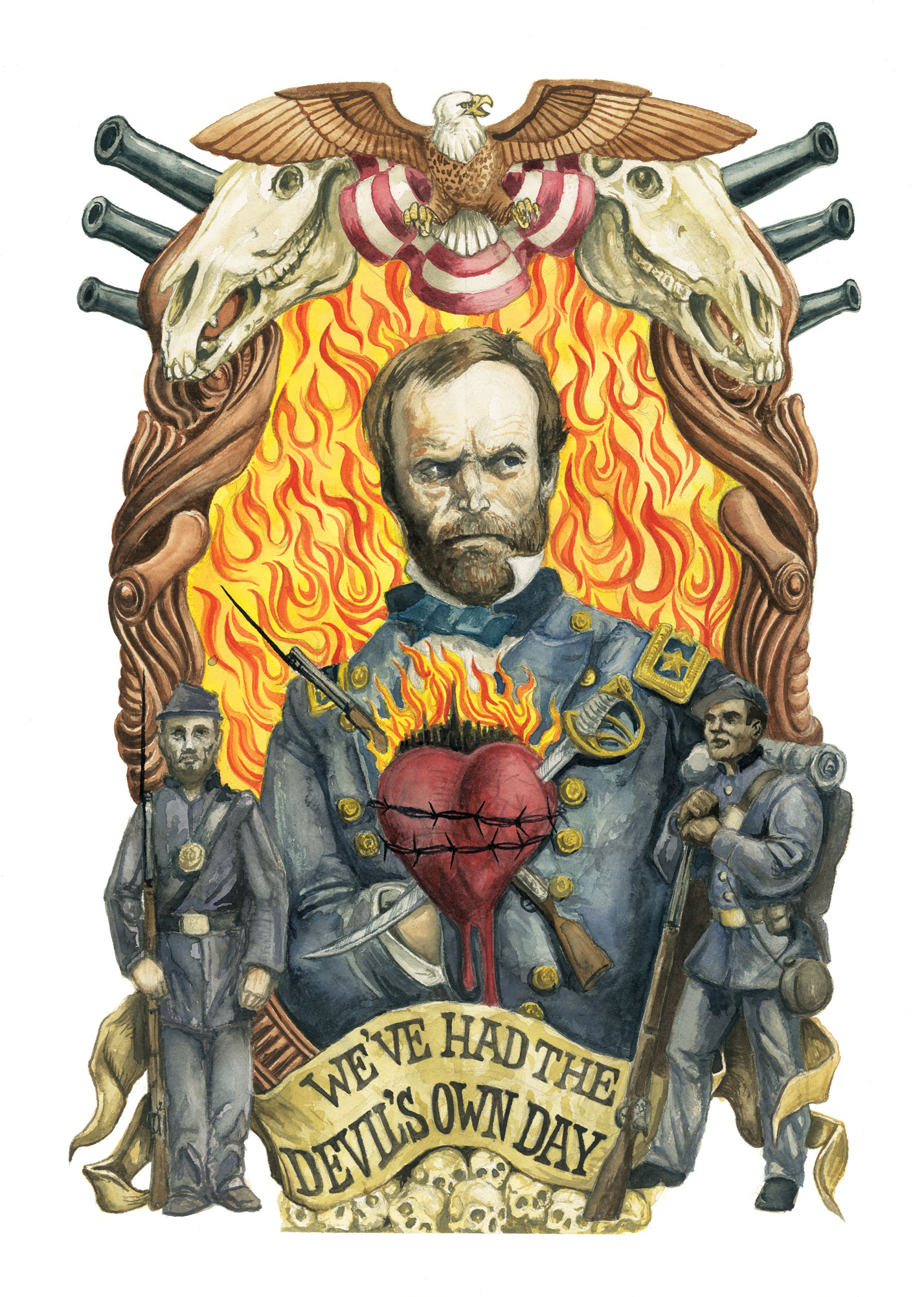 Sacred Heart of William Tecumseh Sherman