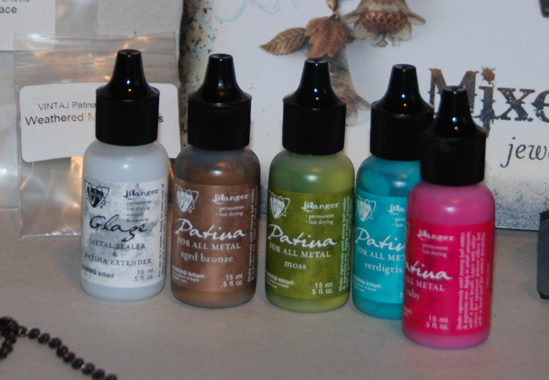 the metal patina paints are available in a fabulous colour range, the metallics are AweSome