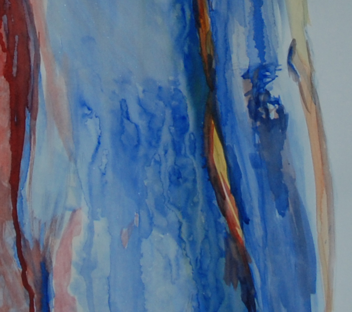 this is what I am working on achieving an intensity of colour that create texture