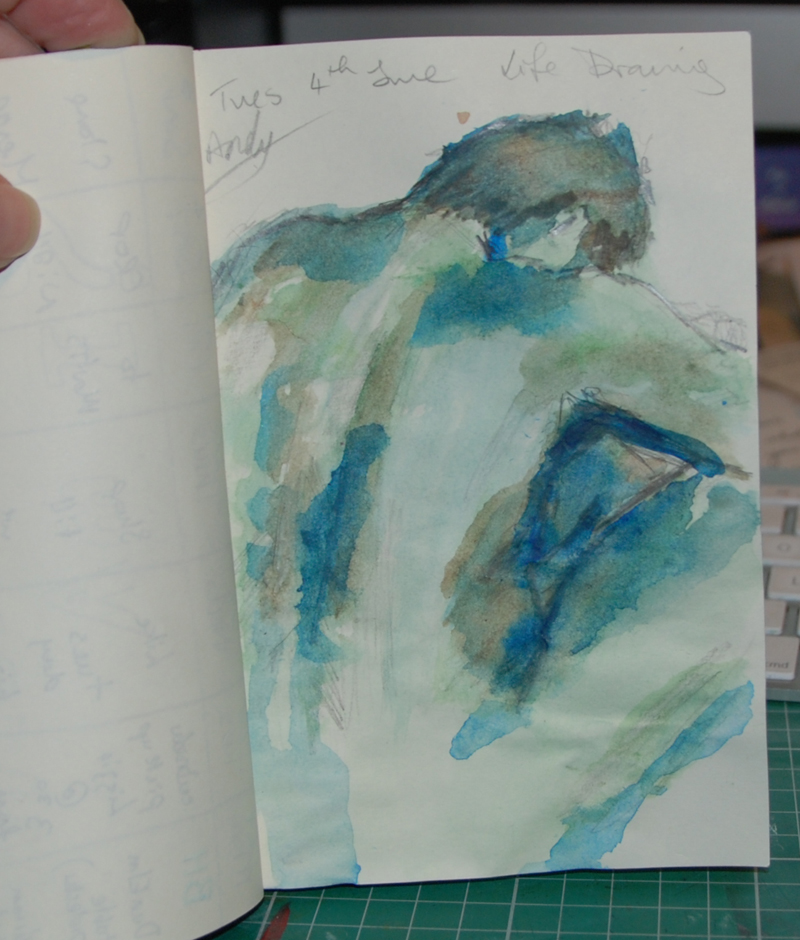 watercolour male copyright donnalouiserodgers