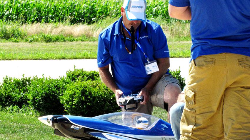 Horizon's Mike McConville readies his SBach 342