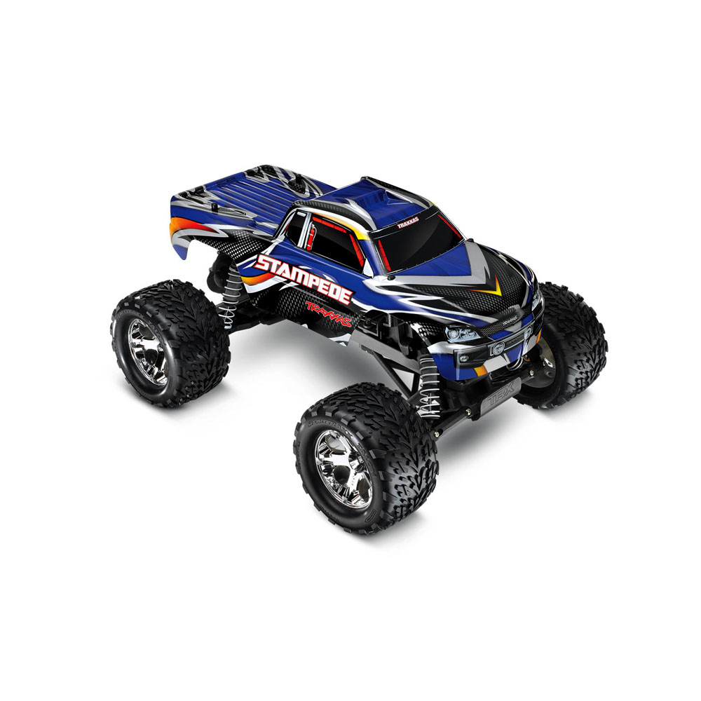 Traxxas Stampede - Position Last Year: 5th If it feels like the Stampede has been on this list forever, it's because it has. At the end of nearly every year since we've started these lists, the Stampede is there, much like it's a mainstay in our store. Dependable, affordable, and exciting to drive, the Stampede will probably be a regular on this list for years to come.