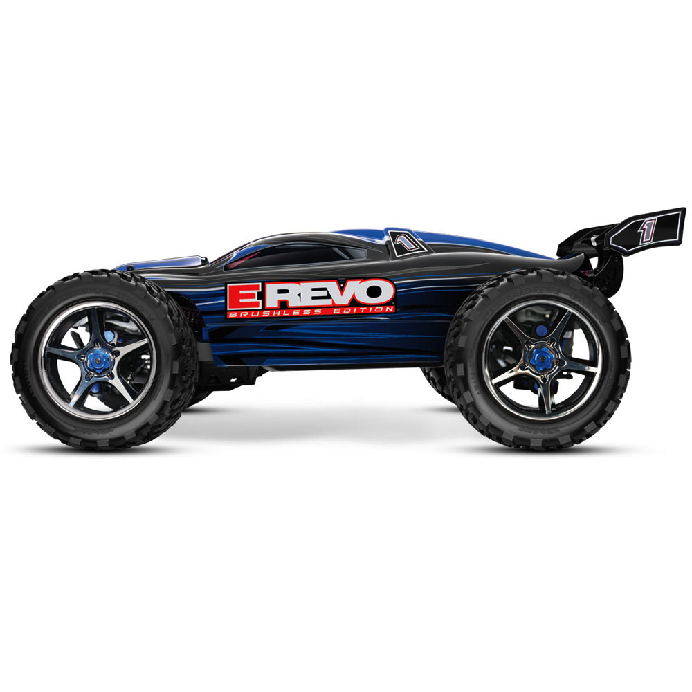 Traxxas E-Revo Brushless - Position Last Year: 3rd Even though E-Revos saw a slump in sales this year, they still held on to a spot on our list, and with the recent price drop, it wouldn't surprise me at all to see the E-Revo surge back up the list in 2018. It's still one of the best 1/8th scale monster trucks in the world, and handles better than most, if not all, of the competition. Look for a return to form from the E-Revo next year.