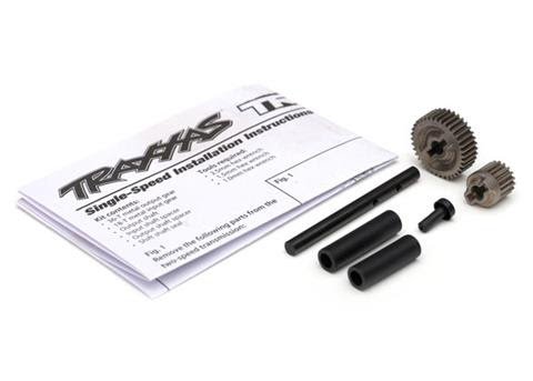 Single-Speed Trans. Gears - These single speed transmission gears will allow you to lose the shifting servo that can cause problems, and simplifies the transmission overall. $12