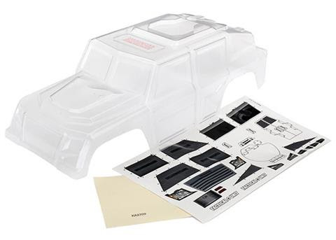 Clear Tactical Body - Paint your own version of the popular TRX-4 Tactical with this pre-cut clear body. $50.