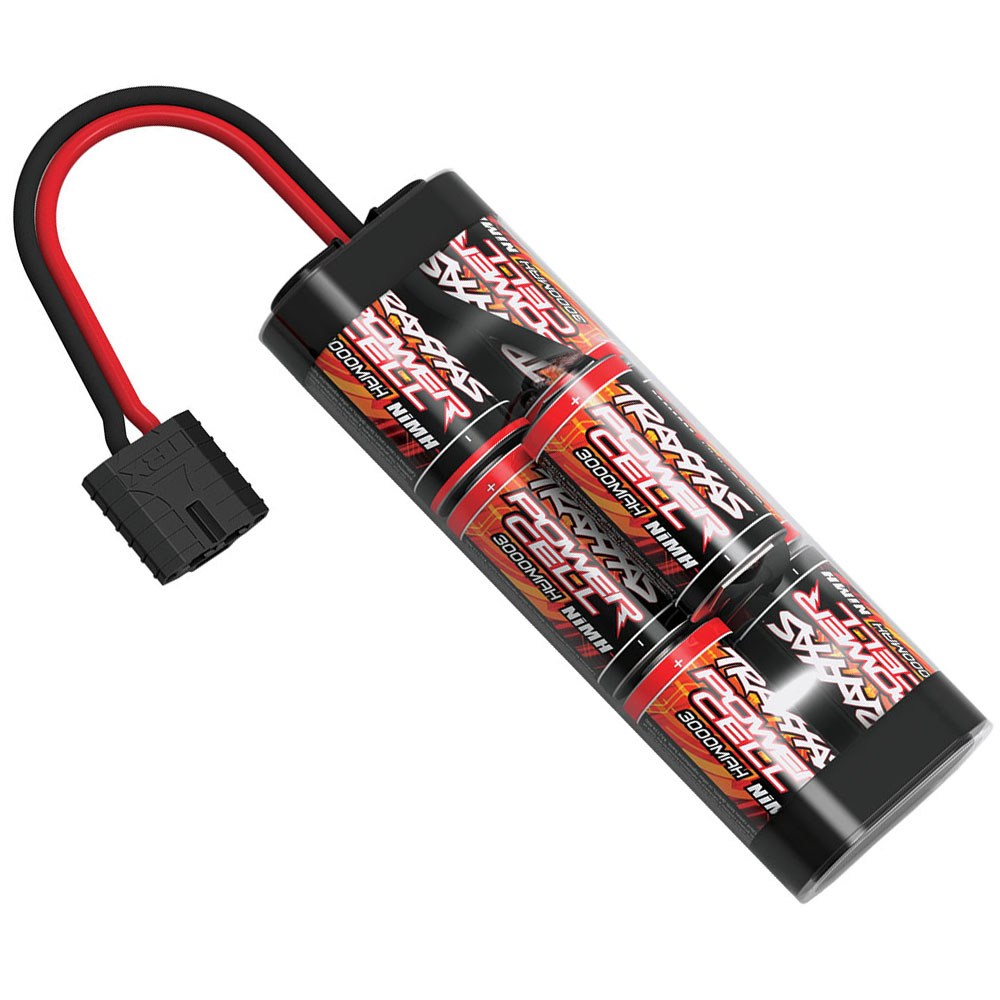 Longer Lasting Battery - The included 8.4v 3000mAh Nickel-Metal Hydride battery provides longer runtimes out of the box than other similar brands. This means more jumps, more racing, and more fun than ECX or ARRMA. The battery also features Traxxas' ID technology, working seamlessly with Traxxas chargers for a hassle-free charging experience.