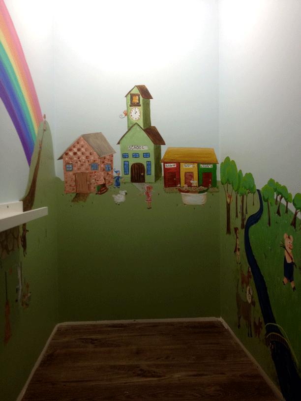 Storybook Mural