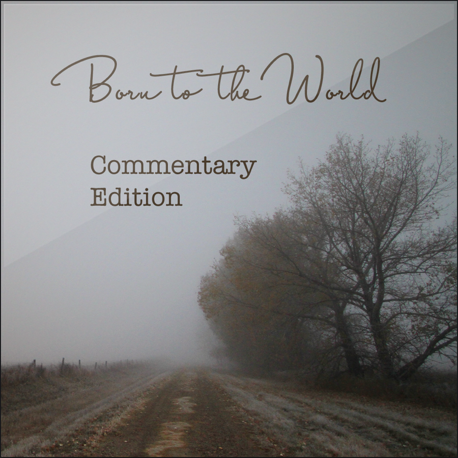 Commentary edition - The full Born to the World EP but each song is lead by a short story of what I think the song is about. What the songs are actually about is up to you.